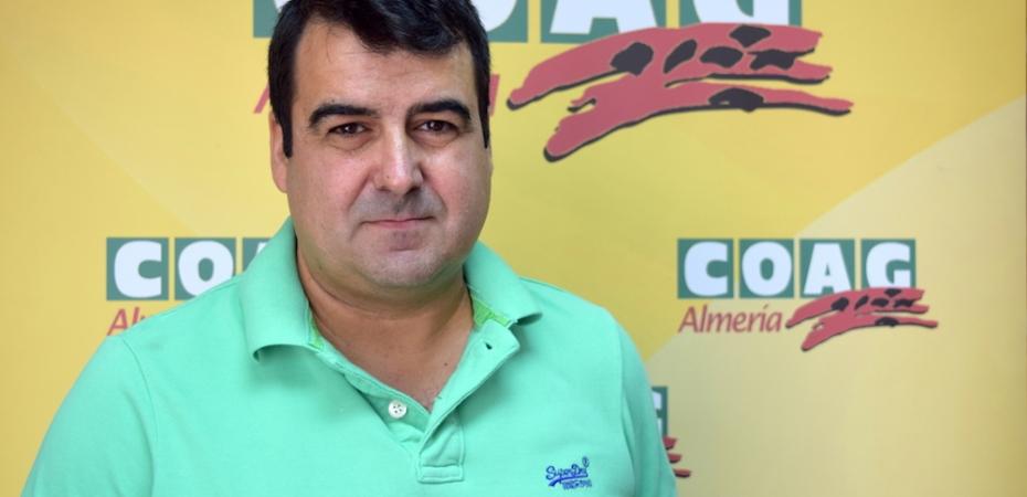 Andrés Góngora, secretario provincial de Coag Almería. Foto de Garcan