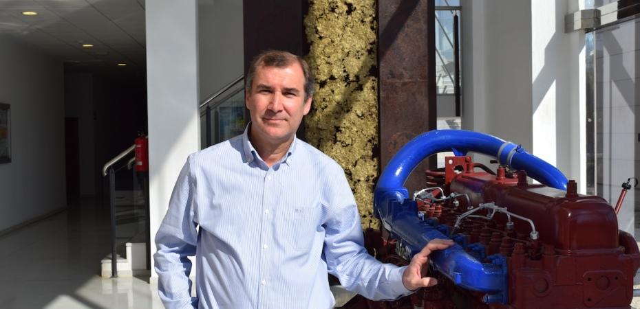 Antonio Giménez, director de la Escuela Superior de Ingeniería de la Universidad de Almería. Foto de Miguel Blanco