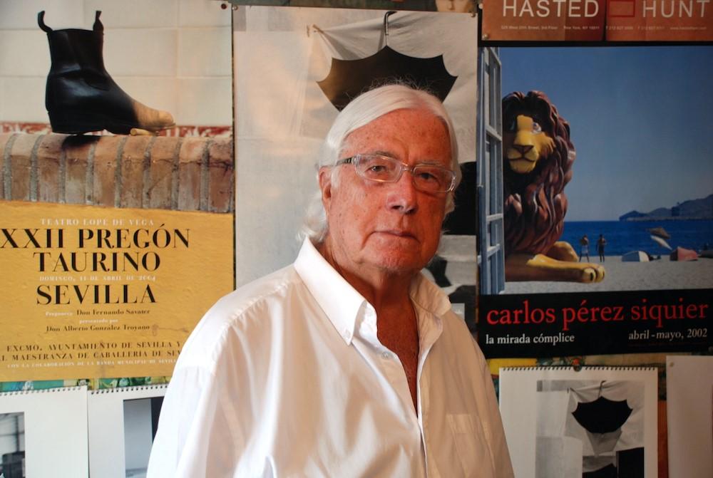 Carlos Pérez Siquier. Foto de Miguel Blanco