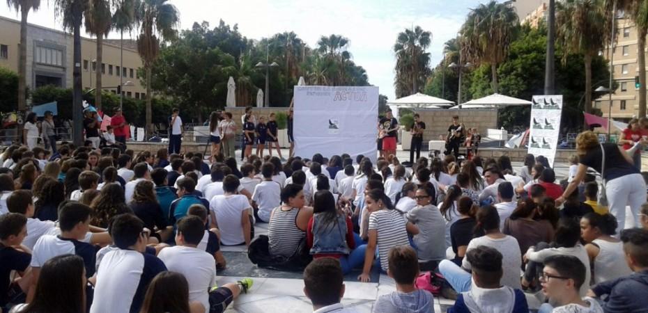 Acto contra la pobreza y la exclusión social en Almería
