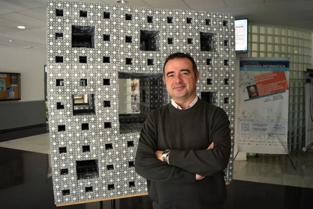 Enrique de Amo, decano de la Facultad de Ciencias Experimentales de la Universidad de Almería. Foto de Miguel Blanco