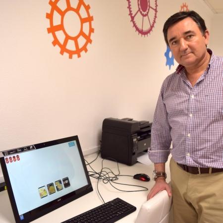 José Jesús Gázquez, investigador de la Universidad de Almería. Foto de Miguel Blanco