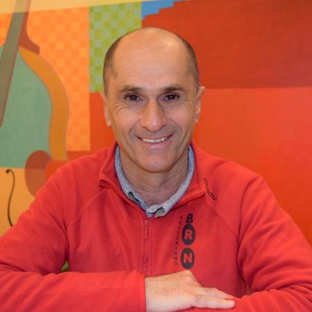 Pepe Criado, escritor y editor almeriense. Foto de Consuelo Mañas