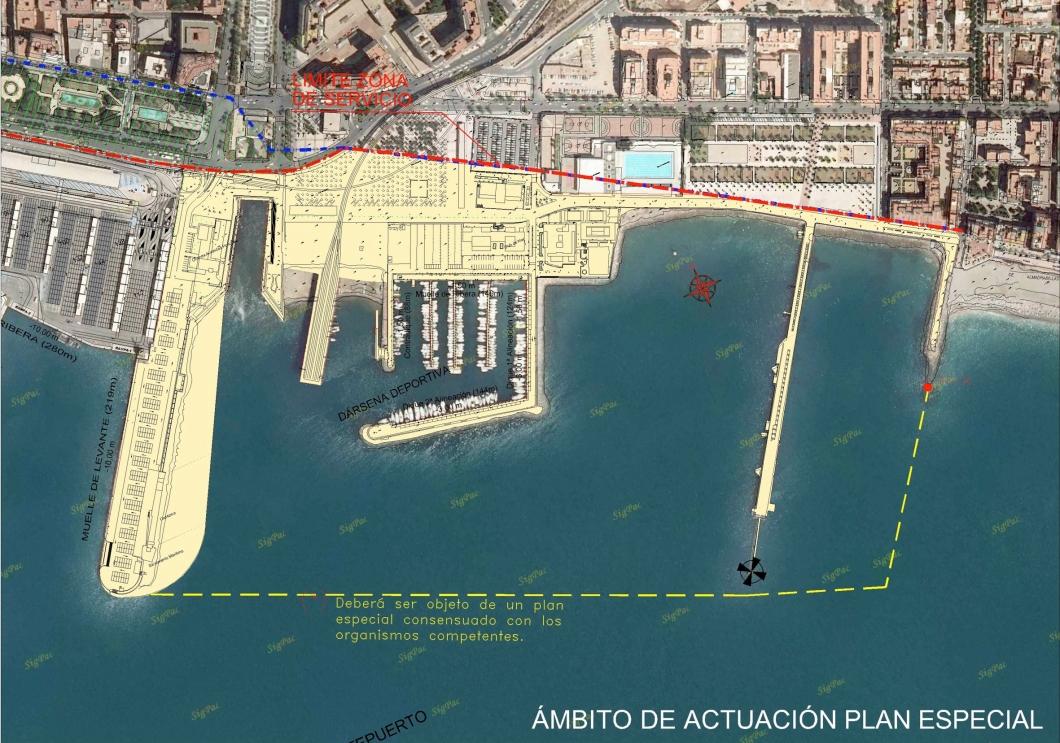 Proyecto de Puerto-Ciudad en Almería