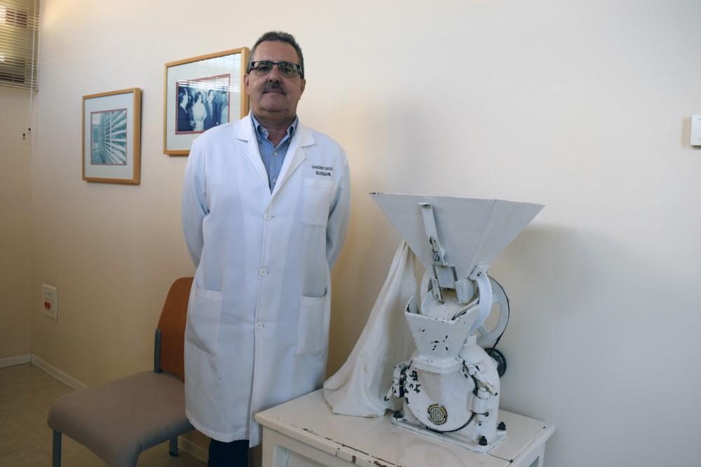 Rafael Durbán, director de los Laboratorios Durbán. Foto de Miguel Blanco