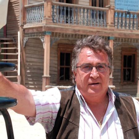 Rafael Molina, especialista de cine y director de Fort Bravo. Foto de Miguel Blanco