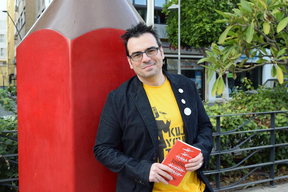 Raúl Quinto, escritor. Foto de Miguel Blanco
