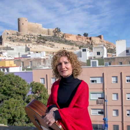 La cantante almeriense Sensi Falán