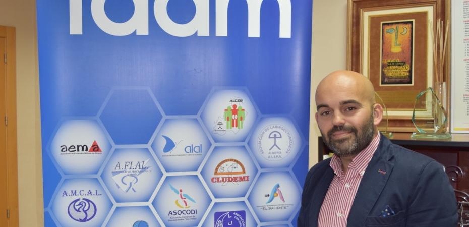 Valentín Sola, presidente de FAAM. Foto de Miguel Blanco