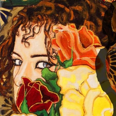 Almeriane, pintora y diseñadora de moda.