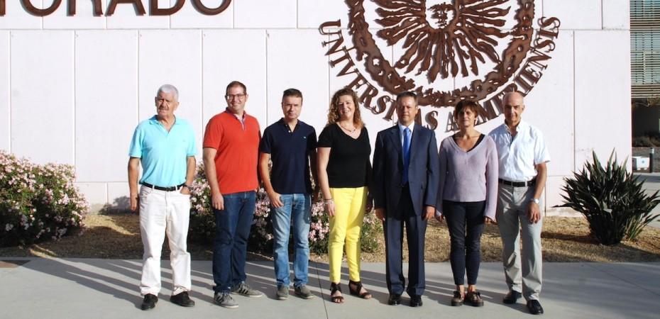Investigadores de la Universidad de Almería