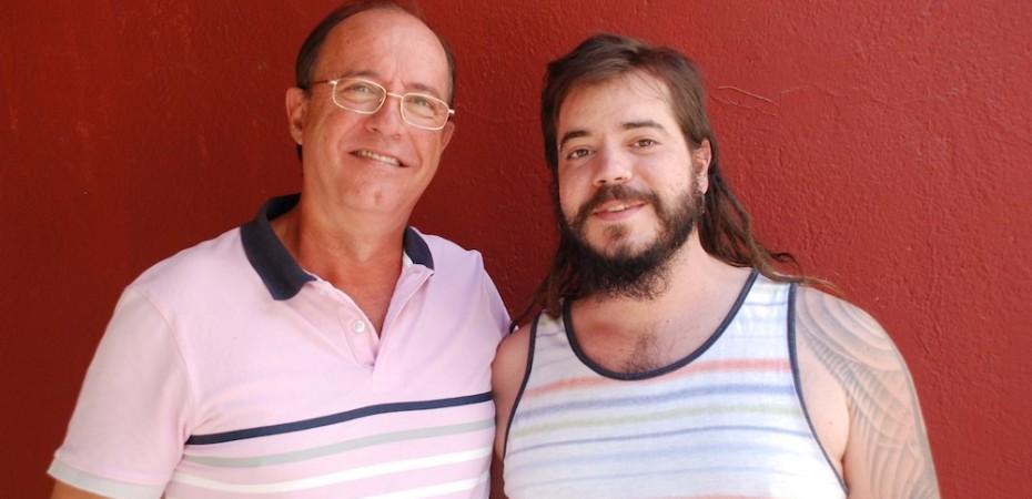 Jose Luis y Pepe Hernandez, de Cervezas La Cala. Foto de Miguel Blanco