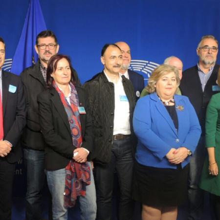 La Mesa del Ferrocarril viaja a Bruselas a buscar ayuda para impulsar el Corredor del Mediterráneo en Almería.
