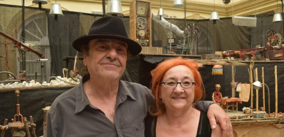 Carlos Góngora y Gloria Zapata, Axioma Teatro. Foto de Miguel Blanco
