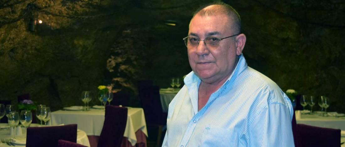 Nicolás Martínez, dueño del restaurante La Gruta. Foto de Miguel Blanco