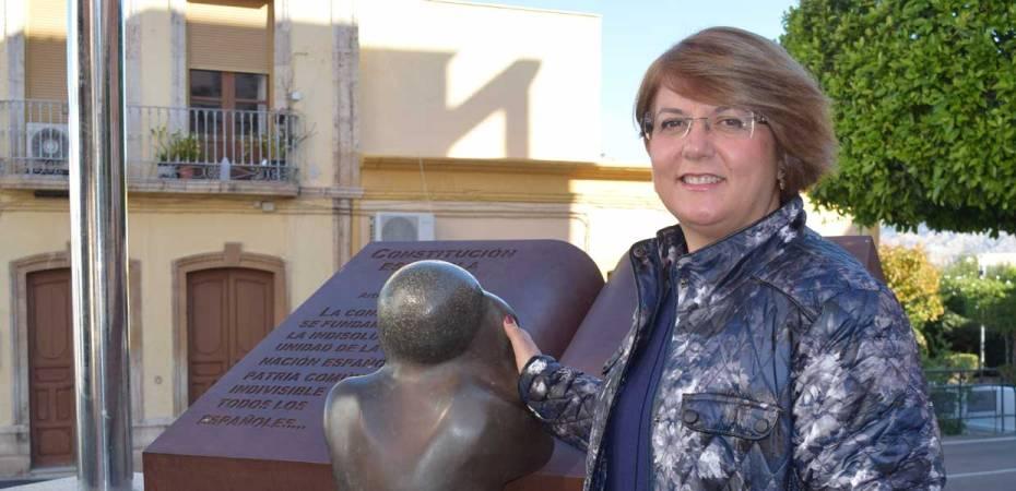 Lourdes Ramos, alcaldesa de Gádor y presidenta del Consorcio del Sector II de Gestión de Residuos. Foto de Miguel Blanco