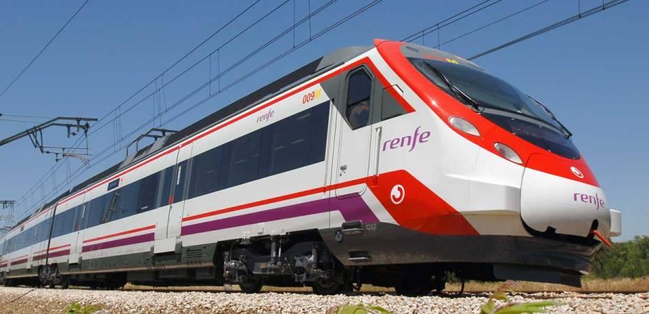 Tren de Cercanías. Foto de Patier / Renfe