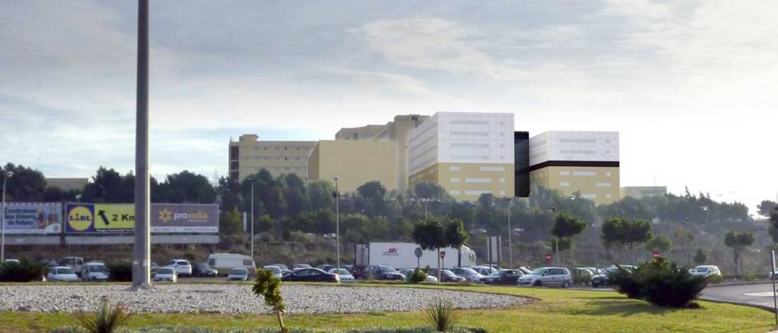 Complejo Hospitalario Torrecárdenas en Almería, con el nuevo Hospital Materno-Infantil