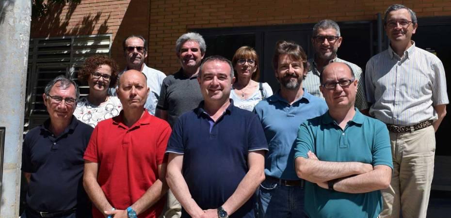 Equipo directivo y coordinadores de Grados y Másteres de la Facultad de Ciencias Experimentales de la Universidad de Almería. Foto de Miguel Blanco