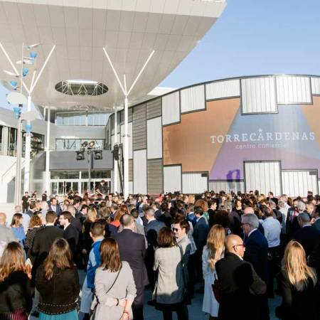 Inauguración del Centro Comercial Torrecárdenas en Almería.