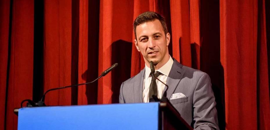 Antonio Jesús Fernández, presidente de la Asociación de Jóvenes Empresarios AJE Almería