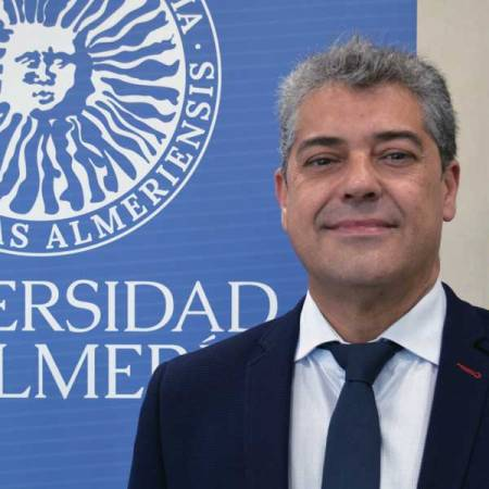 Carmelo Rodríguez, rector de la Universidad de Almería. Foto de Miguel Blanco
