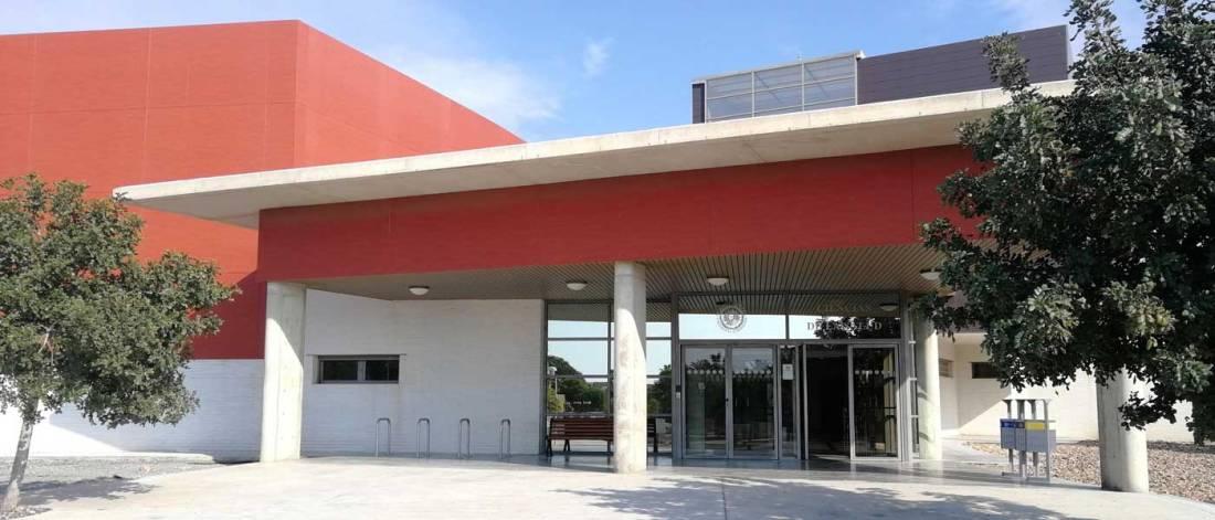 Facultad de Ciencias de la Salud de la Universidad de Almería. Foto de Miguel Blanco