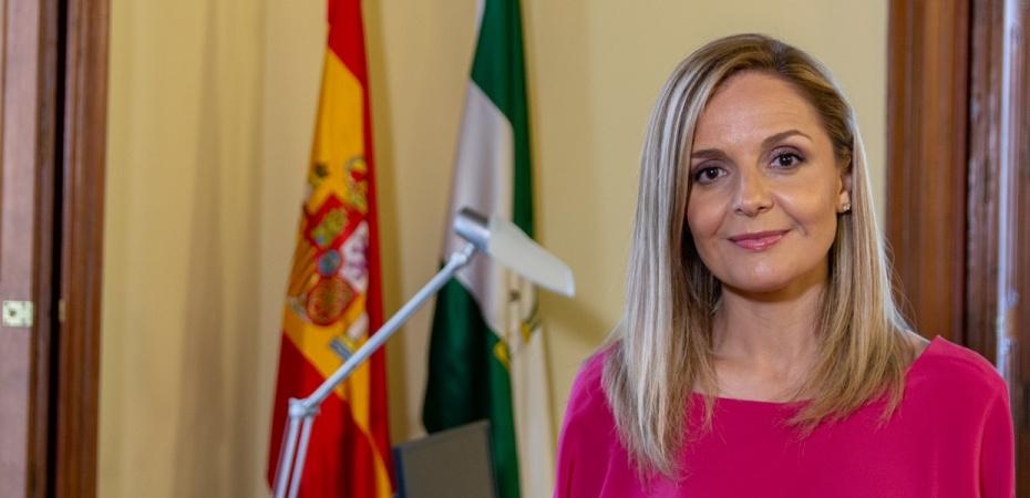 Maribel Sánchez, delegada del Gobierno de la Junta de Andalucía en Almería. Foto de Alfonso Gutiérrez / Foco Sur