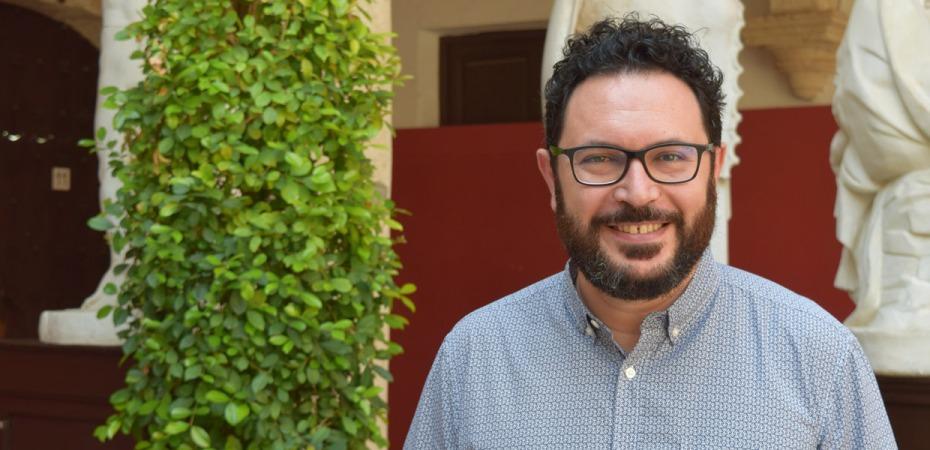 Cristóbal Díaz, director de la Escuela de Arte de Almería. Foto de Miguel Blanco
