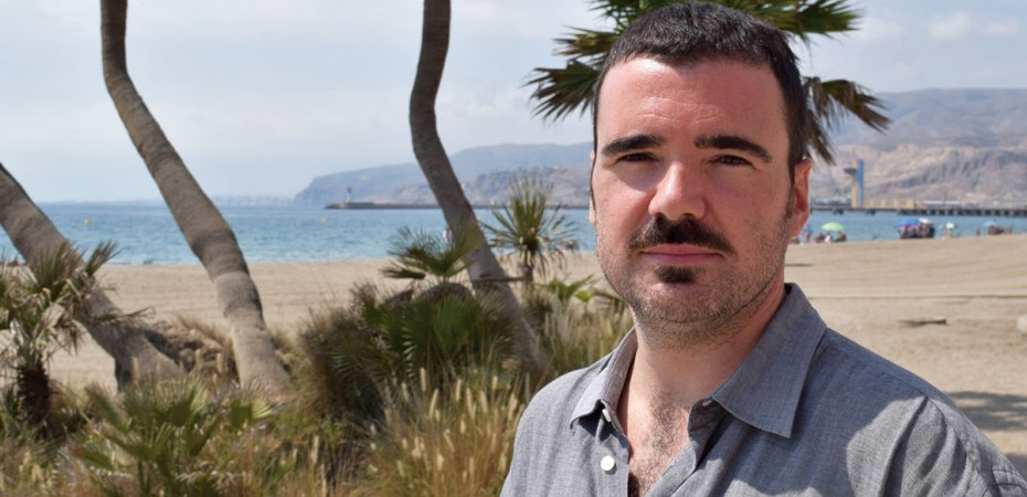 Julio Béjar, escritor y actor. Foto de Miguel Blanco