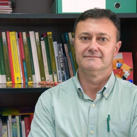 Emilio Galdeano, catedrático de Economía Aplicada de la UAL. Foto de Miguel Blanco
