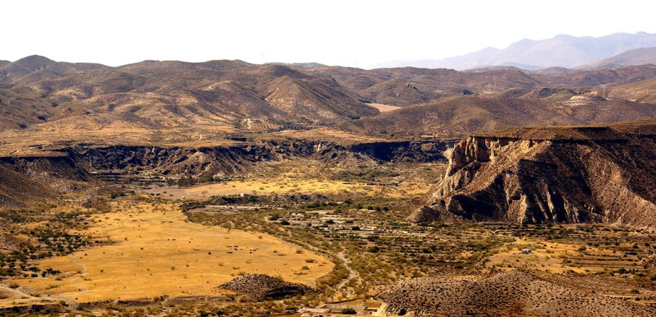 Desierto de Tabernas, tesoro del cine europeo. Foto de Sergio Lucas