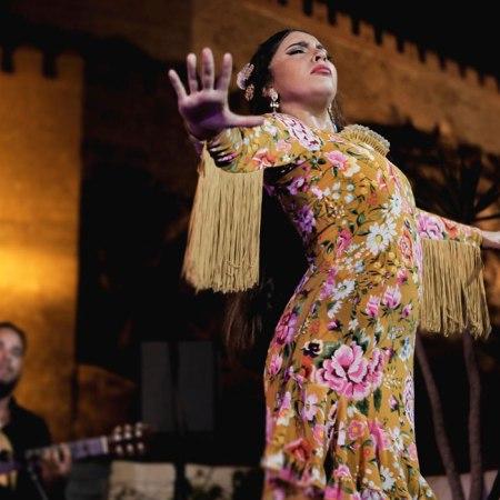 Espectáculo flamenco en La Guajira. Foto de Alessia Gira.