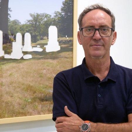 Fernando Barrionuevo, artista y director de MECA Mediterráneo Centro Artístico. Foto de Miguel Blanco