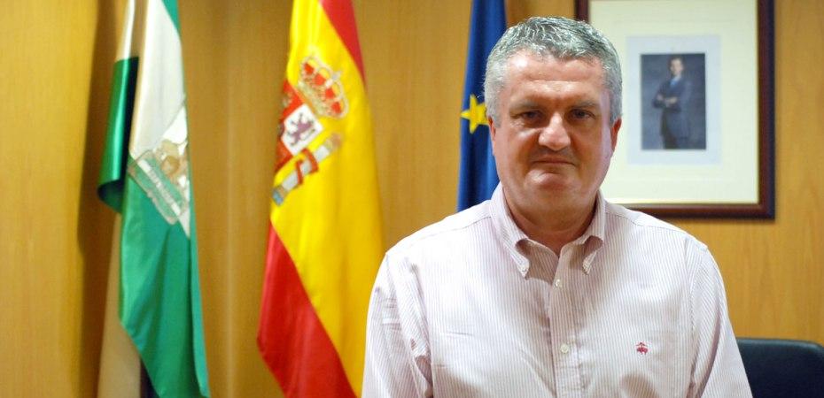 Juan de la Cruz Belmonte, delegado de Salud en Almería. Foto de Pedro Parra / Foco Sur
