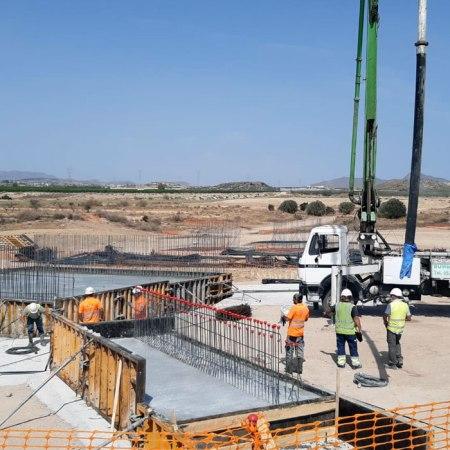 Obras del AVE en Almería