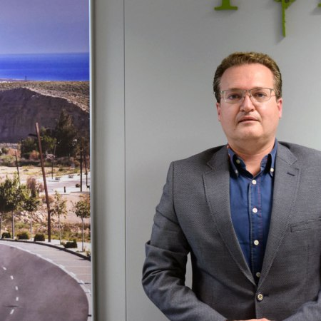 Diego Clemente, director general del Parque Científico Tecnológico de Almería, PITA. Foto de Pedro Parra / Foco Sur