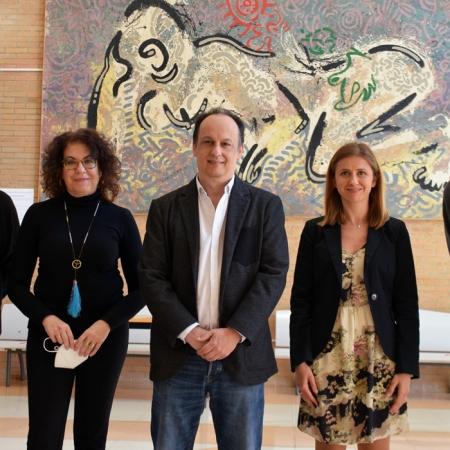 Equipo decanal de la Facultad de Humanidades de la Universidad de Almería. Foto de Miguel Blanco / Foco Sur