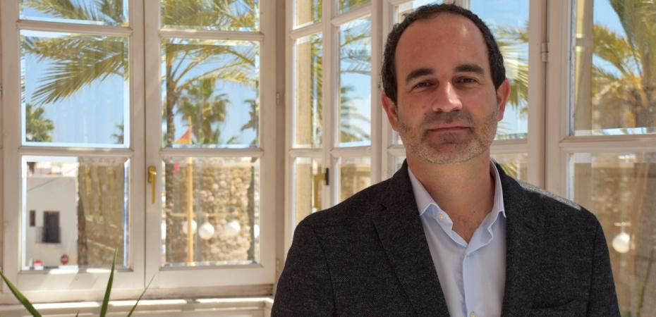 José Luis Amérigo, alcalde de Carboneras. Foto de Miguel Blanco / Foco Sur