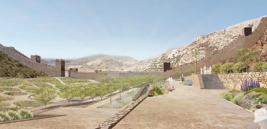 Proyecto de Jardines Mediterráneos de la Hoya en Almería