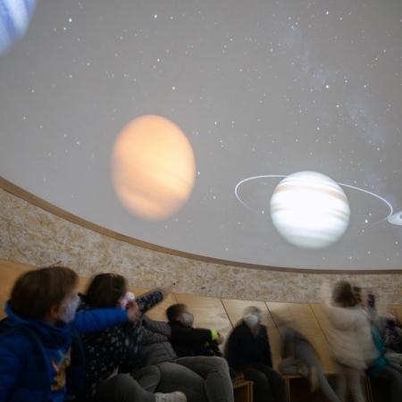 Planetario de Serón. Foto de Amanda Mandry